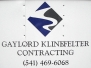 Gaylord Klinefelter Contracting